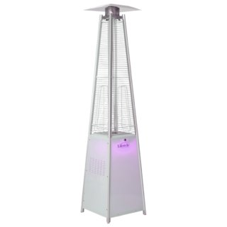 Tahiti Flame LED Pyramid Patio Heater