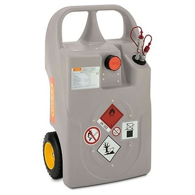 Cemo Diesel & Heating Oil Trolleys with Quick Couplings