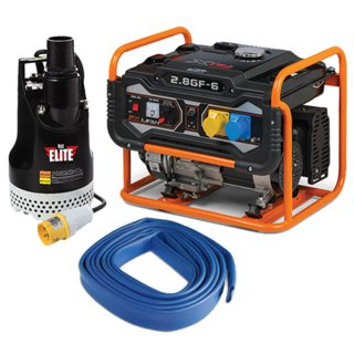 Elite Water Pump & Generator Emergency Flood Kit