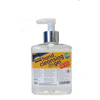 Prosolve Hand Cleansing Gel with Pump Nozzles (28 x 250ml)