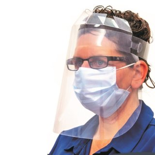 Prosolve Full-Face Protective Visors (Box of 250)