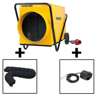 Medium Ductable Electric Marquee Heater Package (3 Phase)