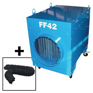 Large Ductable Electric Marquee Heater Package (3 Phase)